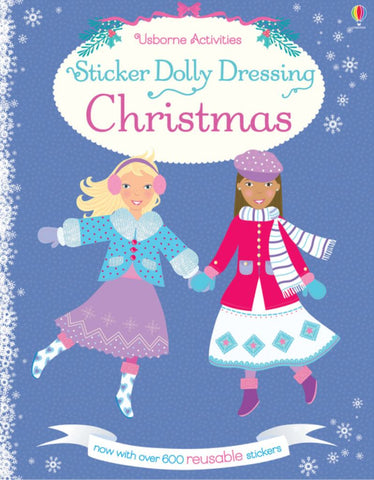 Sticker Dolly Dressing/Christmas  by Leonie Pratt - 9781409595298