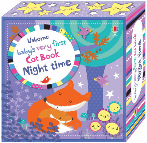Baby's Very First Cot Book Night Time  by Fiona Watt - 9781409597056