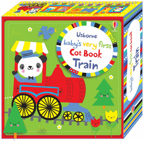 Baby's Very First Cot Book Train  by Fiona Watt - 9781409597063