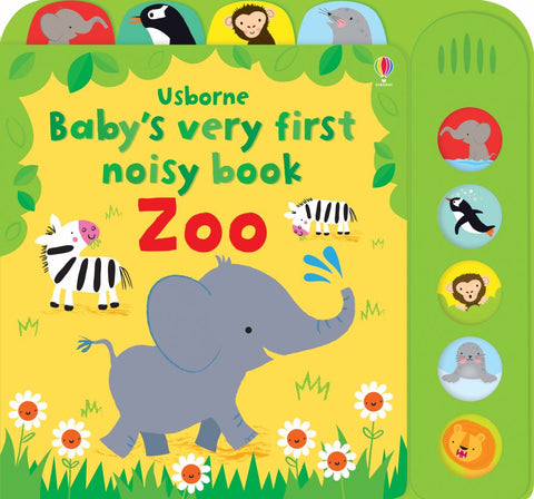 Baby's Very First Noisy Book Zoo  by Fiona WATT - 9781409597117