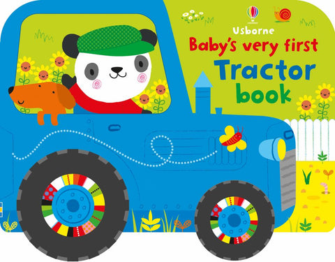 Babys Very First Tractor Book  -