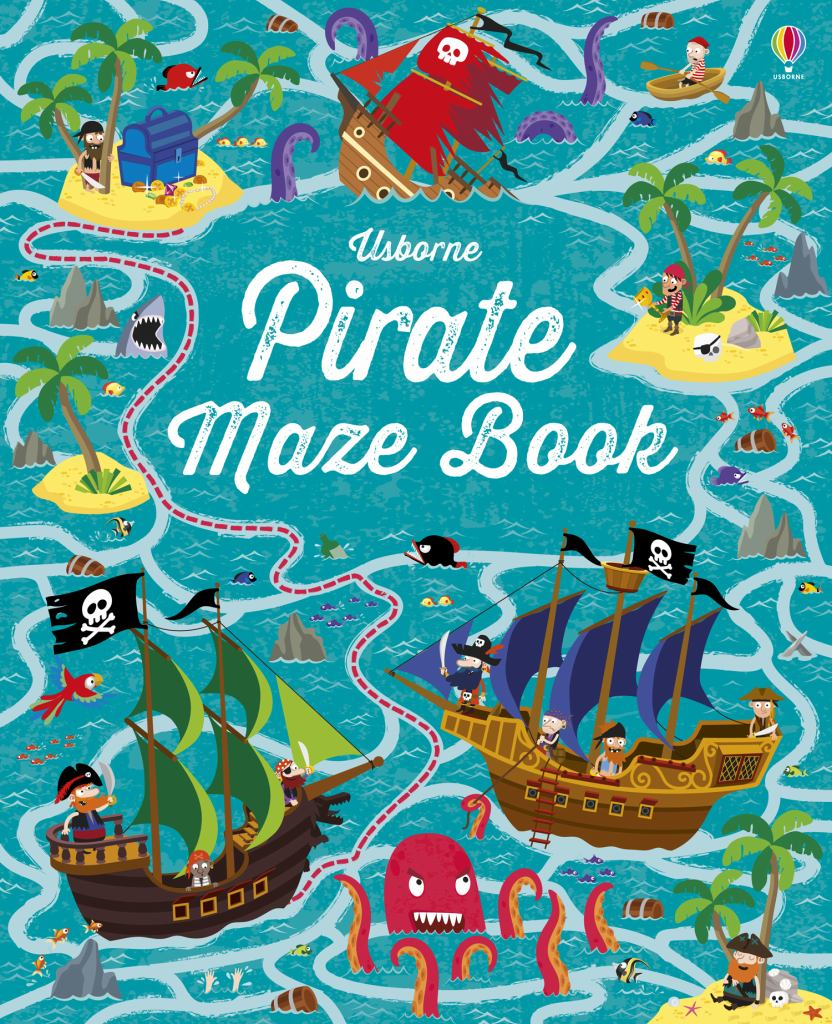 Pirate Maze Book  by Kirsteen Robson - 9781409598510