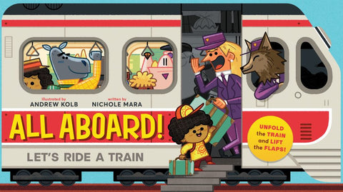 All Aboard!  by Andrew Kolb (Illustrator) - 9781419725678