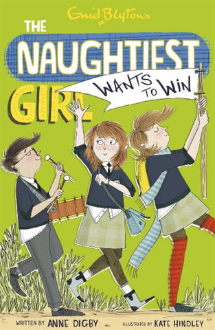 The Naughtiest Girl Wants to Win