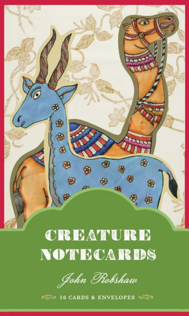 John Robshaw Creature Notecards  by John Robshaw - 9781452105109
