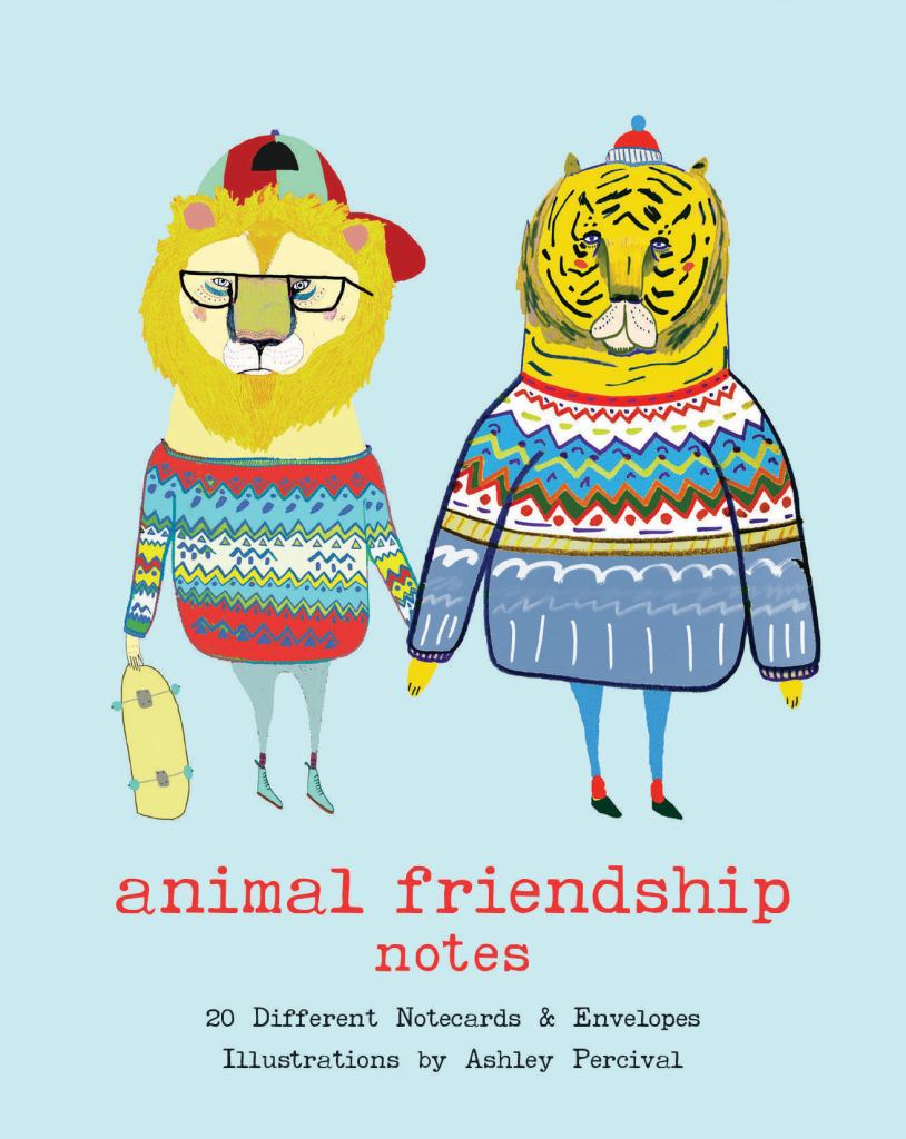 Animal Friendship Notes  by Ashley Percival - 9781452158488