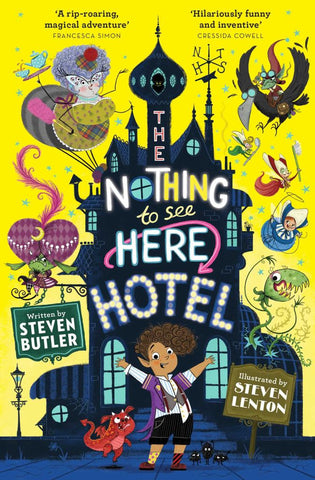 The Nothing to See Here Hotel  by Steven Butler - 9781471163838