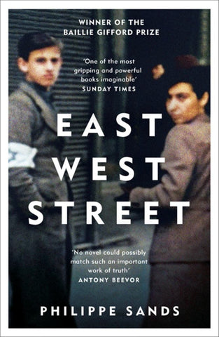 East West Street  by Philippe Sands - 9781474601917