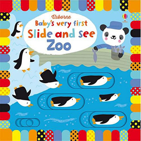 Baby's Very First Slide and See Zoo  by Fiona Watt - 9781474921725