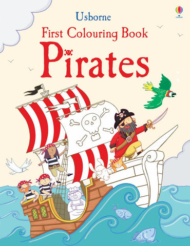 First Colouring Book Pirates
