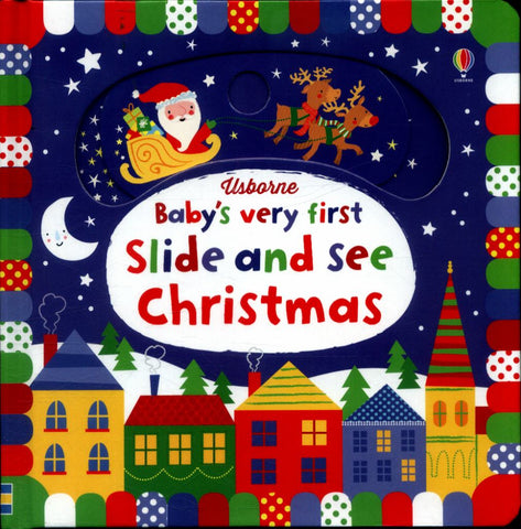 Baby's Very First Slide and See Christmas  -