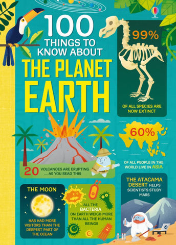 100 Things to Know about Planet Earth  by Federico Mariani - 9781474950626