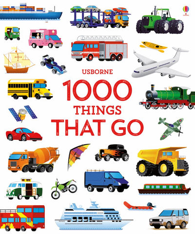 1000 Things That Go  by S. A. M. TAPLIN - 9781474951357