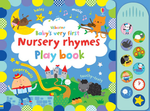 Babys Very First Nursery Rhymes Playbook  by Fiona Watt - 9781474953566