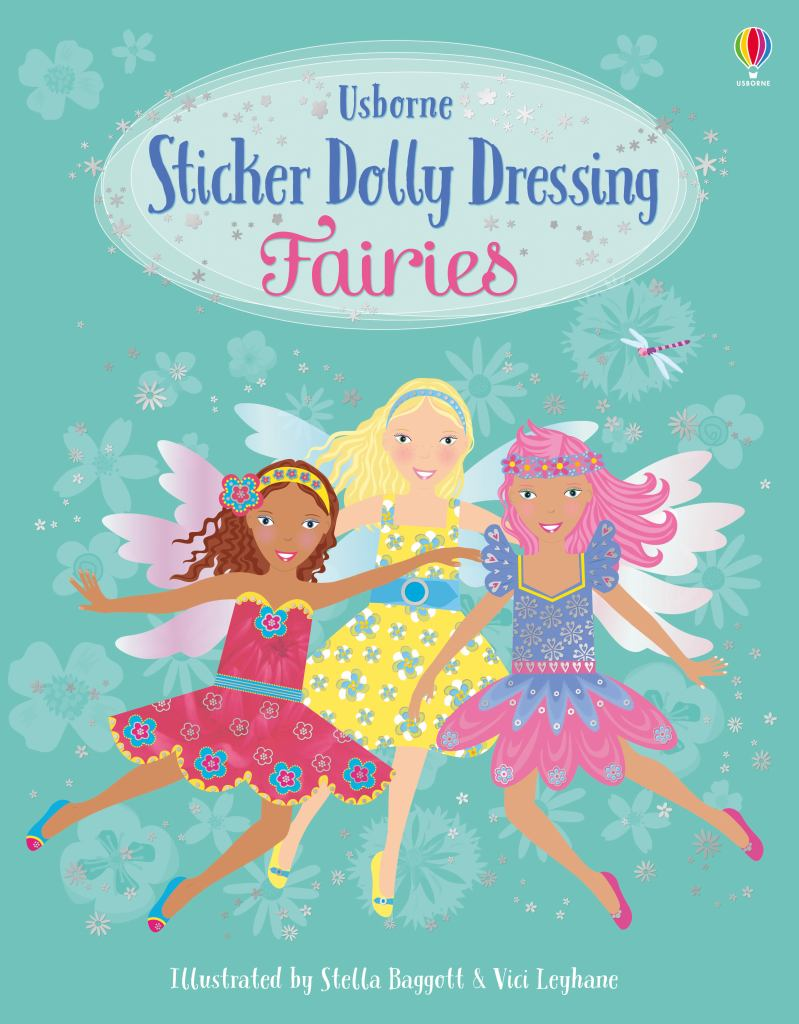Sticker Dolly Dressing Fairies  by Fiona Watt - 9781474973373