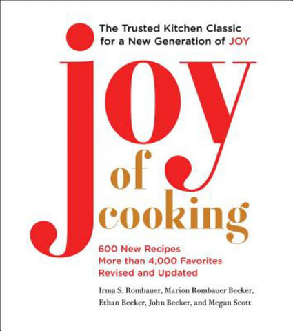 Joy of Cooking  by Irma S. Rombauer - 9781501169717
