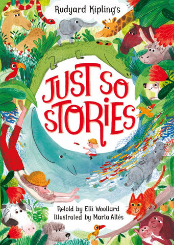 Just So Stories  by Elli Woollard - 9781509814749