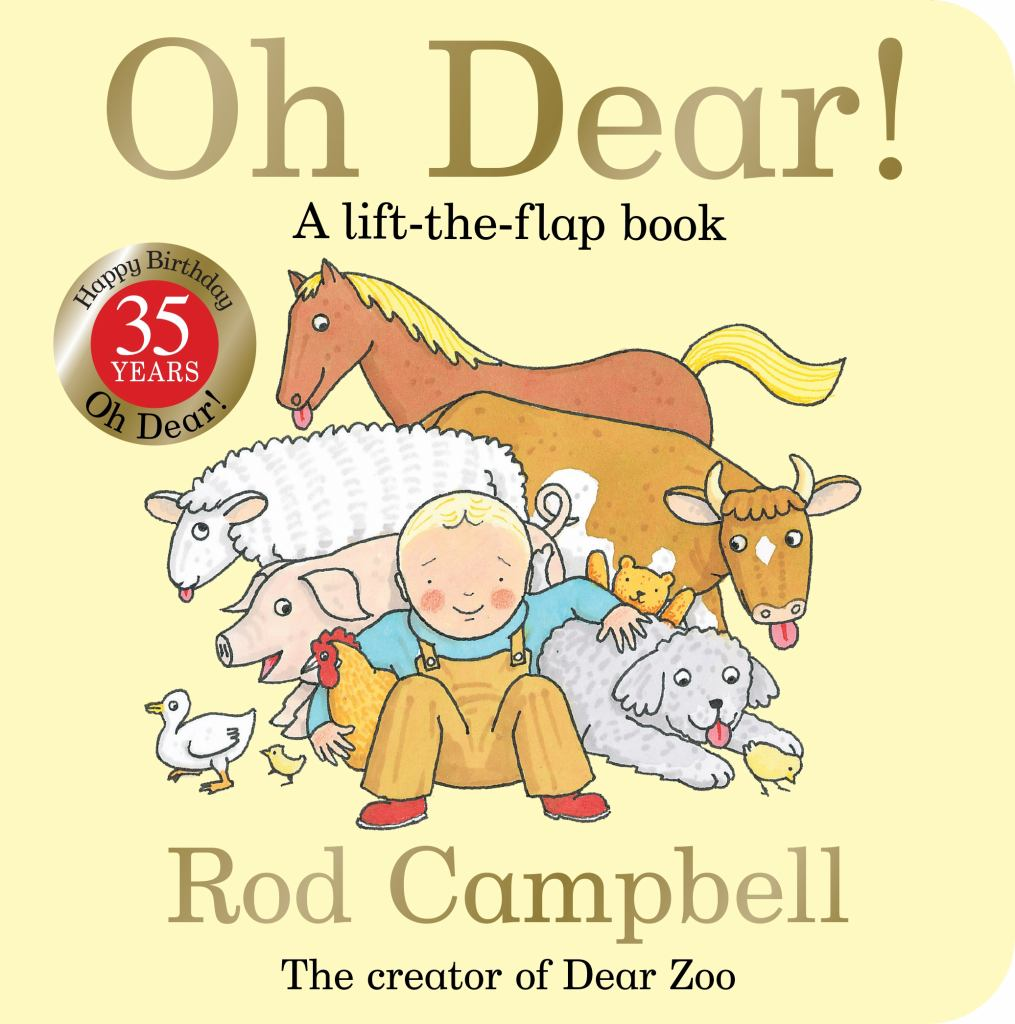 Oh Dear!  by Rod Campbell - 9781509870325