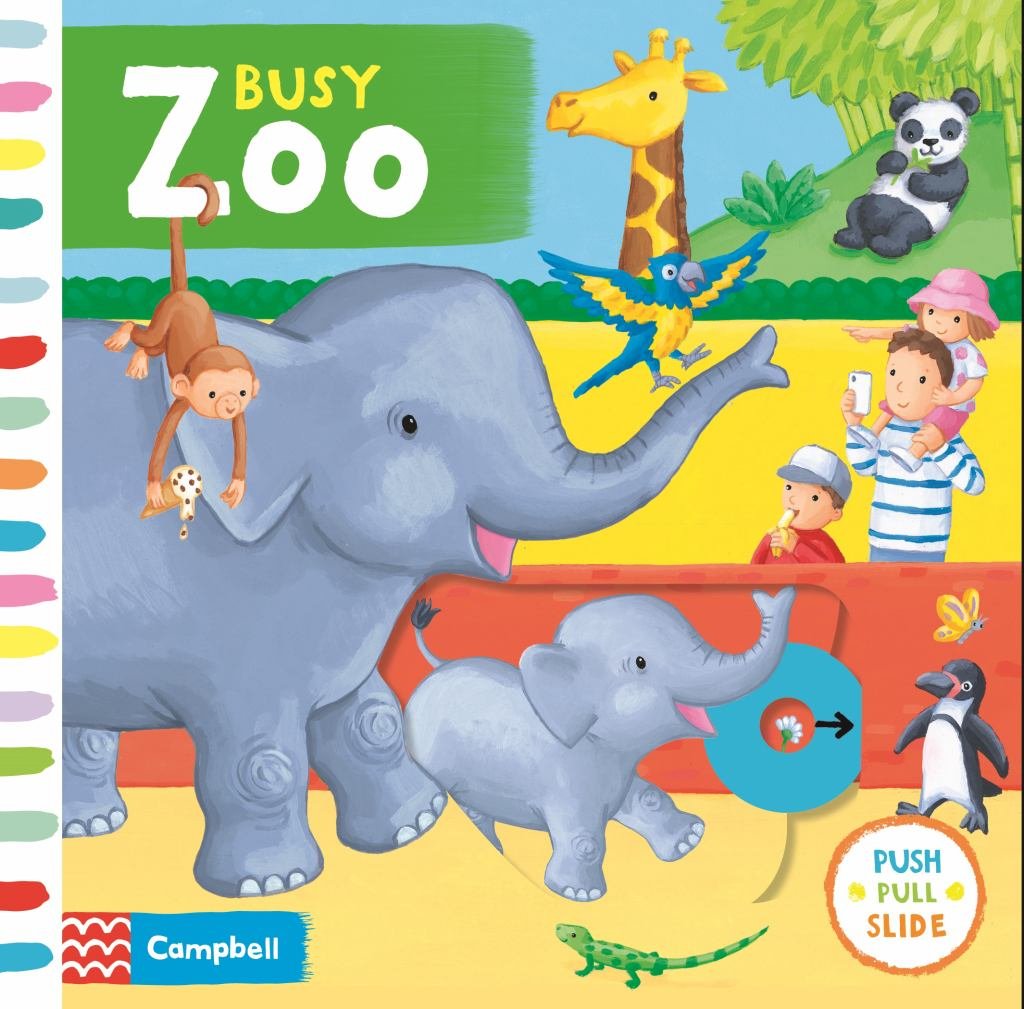 Busy Zoo  by Rebecca Finn (Illustrator) - 9781509883691
