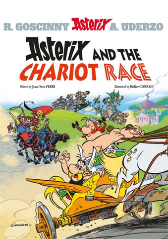 Asterix and the Chariot Race  by Jean-Yves Ferri - 9781510104013