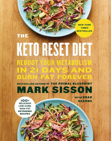 The Keto Reset Diet  by Mark Sisson - 9781524762230