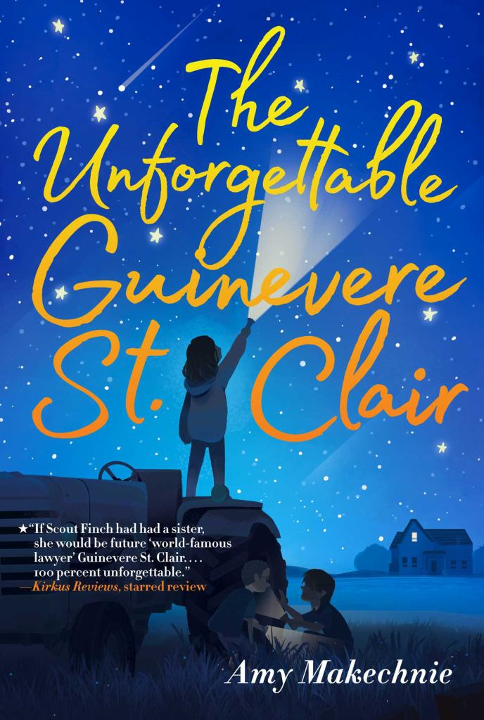 The Unforgettable Guinevere St. Clair  by Amy Makechnie - 9781534414471