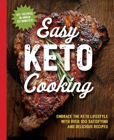 Easy Keto Cooking  by Cider Mill Press - 9781604338836
