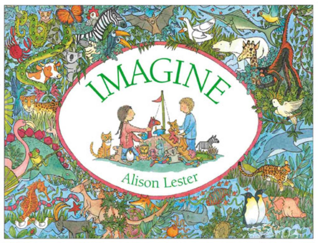 Imagine  by Alison Lester (Illustrator) - 9781741147124