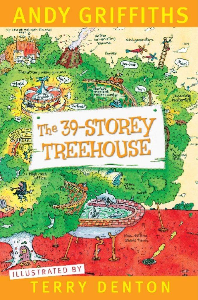 The 39-Storey Treehouse  by Andy Griffiths - 9781742612379