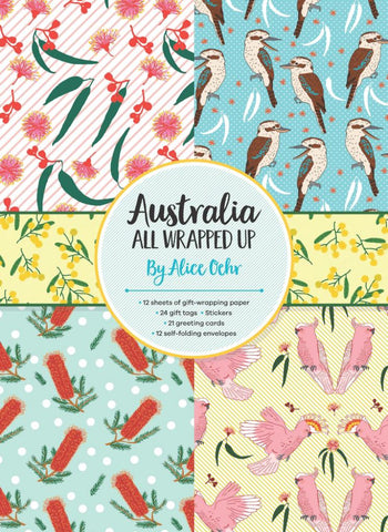 Australia All Wrapped Up  by Alice Oehr (Illustrator) - 9781760129217