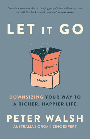 Let It Go  by Peter Walsh - 9781760896935