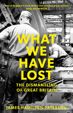 What We Have Lost  by James Hamilton-Paterson - 9781784972363