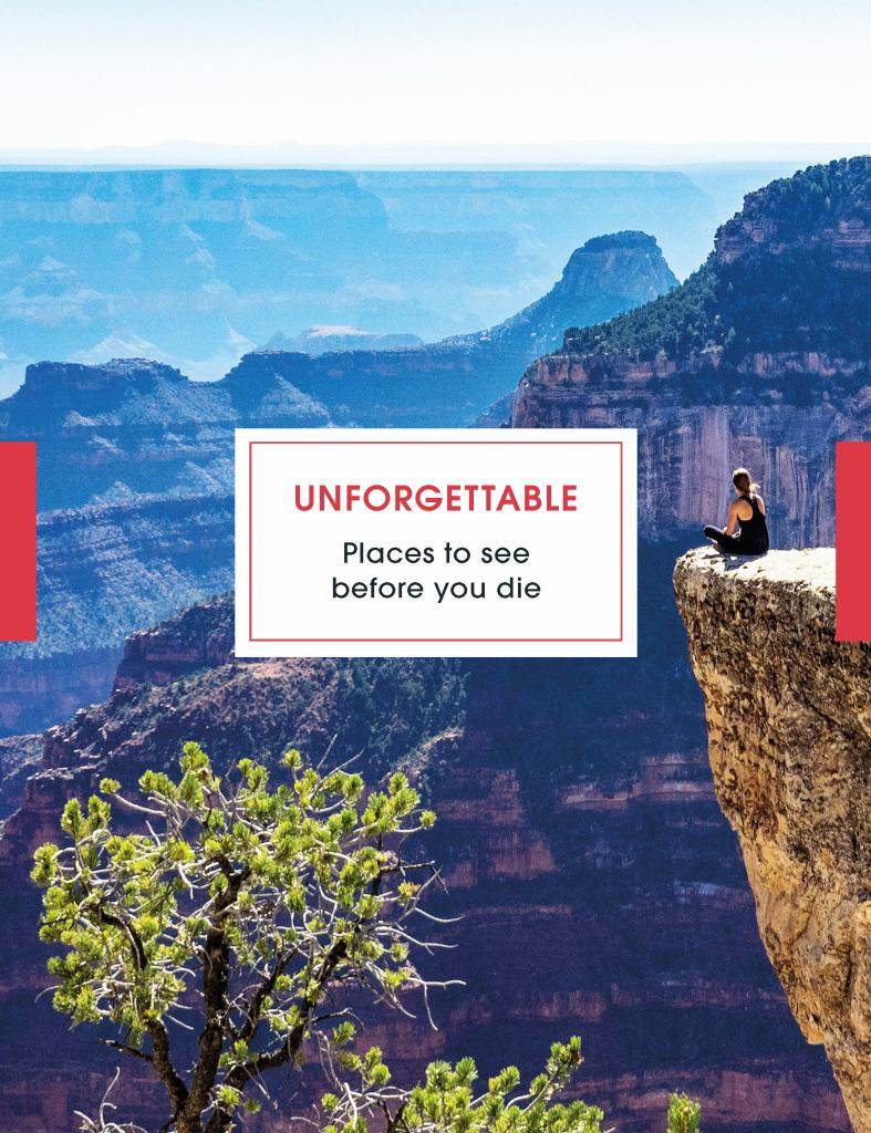 Unforgettable Places to See Before You Die  by Steve Davey - 9781785944161