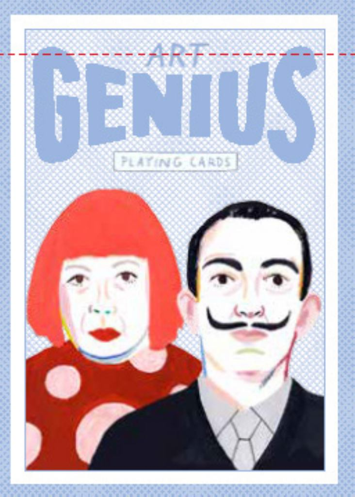 Art Genius Playing Cards  by Rebecca Clarke (Illustrator) - 9781786270146