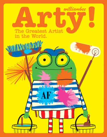 Arty  by William Bee - 9781843653950