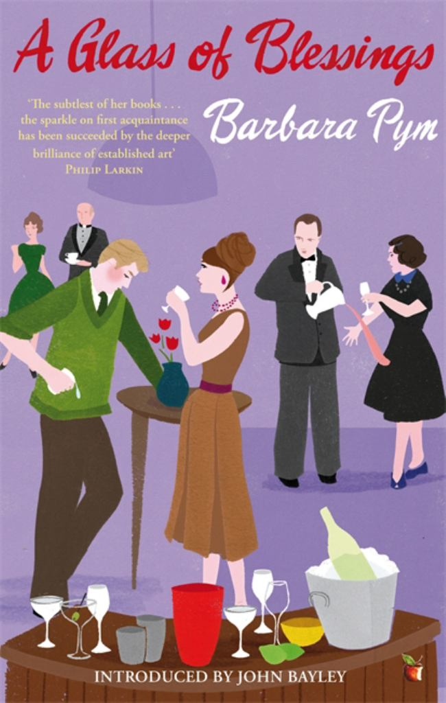 A Glass of Blessings  by Barbara Pym - 9781844085804