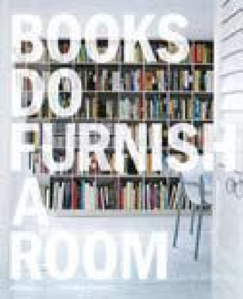Books Do Furnish a Room  by Leslie Geddes-Brown - 9781858944913