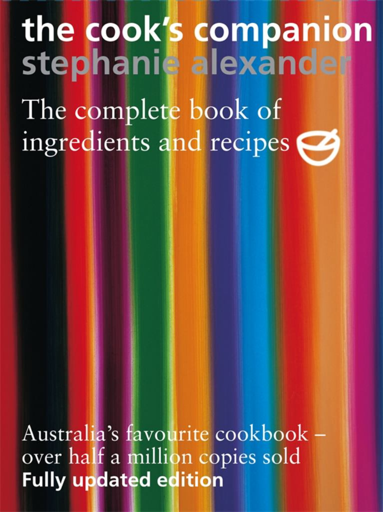 The Cook's Companion  by Stephanie Alexander - 9781920989002