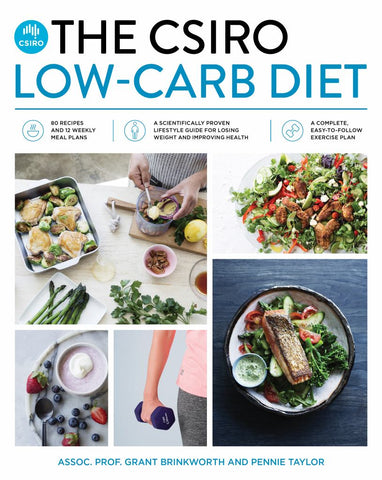 The CSIRO Low-Carb Diet  by Grant  Brinkworth - 9781925481488