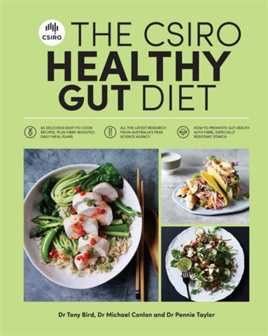 The CSIRO Healthy Gut Diet  by Pennie Taylor - 9781925481501