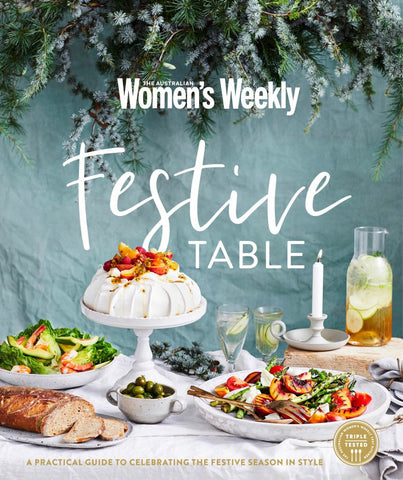 Festive Table  by Australian Women's Weekly Weekly - 9781925695533