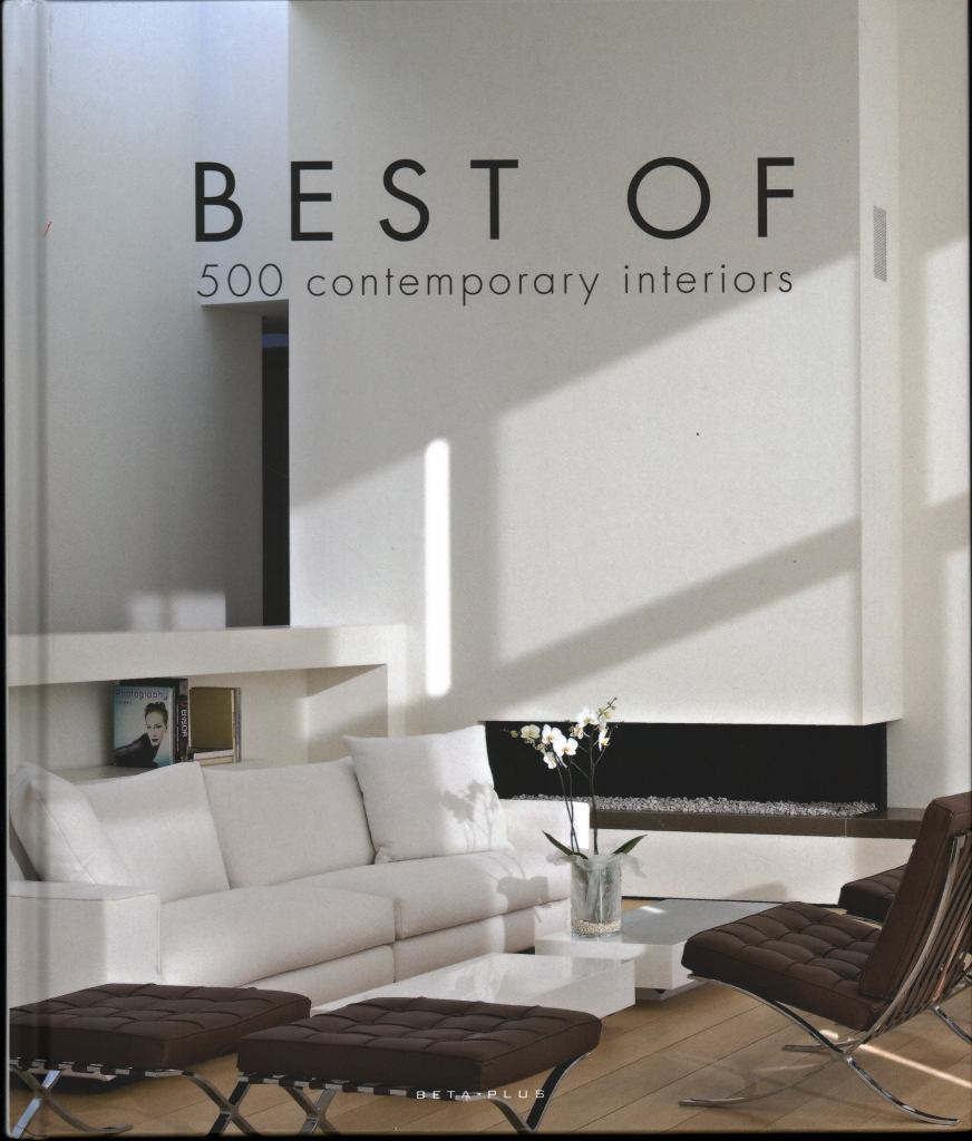 Best of 500 Contemporary Interiors  by Wim Pauwels - 9782875500724