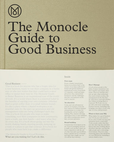 The Monocle Guide to Good Business  -