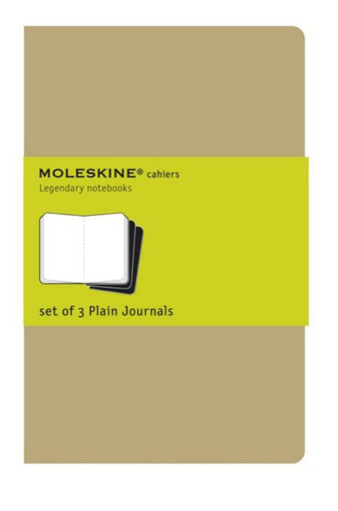 Moleskine Plain Cahier Journal Kraft Large  by Moleskine Staff - 9788883705007