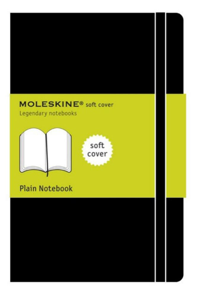 Moleskine Soft Cover Plain Notebook  by Moleskine Staff - 9788883707261