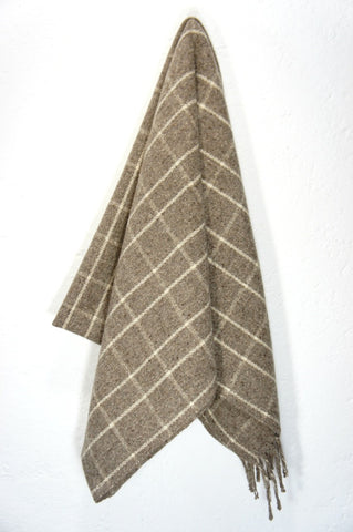 MEXCHIC POLANCO GREY BLANKET