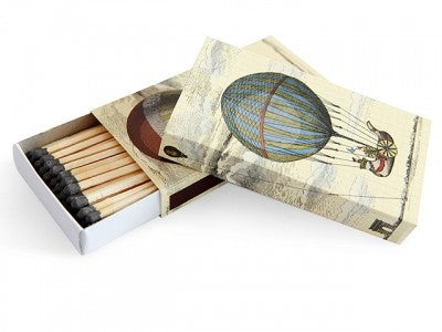 ART SERIES BOXED MATCHES HOT AIR BALLOONS  -