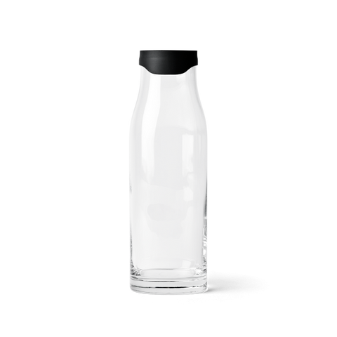MENU WATER CARAFE BLACK LID  -