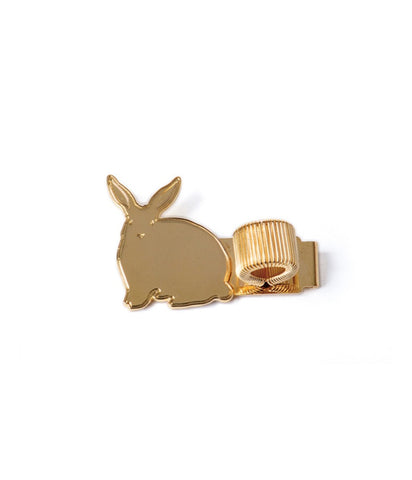 METAL PEN HOLDER RABBIT  -