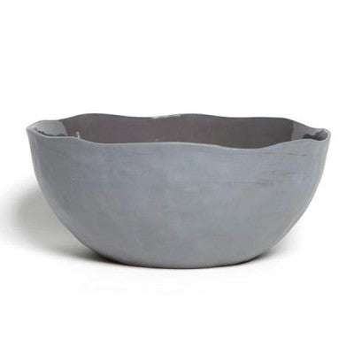 FLAX CHARCOAL SALAD BOWL  -